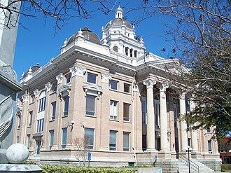 Lowndes County Courthouse (Georgia) - Image: Valdosta GA crths 02