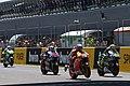Valentino Rossi, Dani Pedrosa, Jorge Lorenzo and Álvaro Bautista 2014 Jerez.jpeg