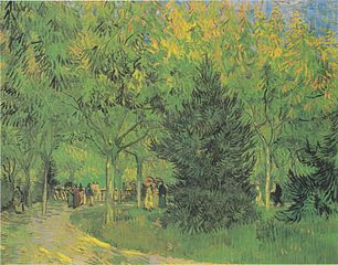 A Lane in the Public Garden at Arles