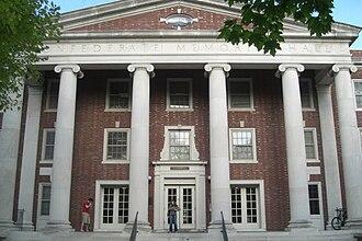 Vanderbilt University - Memorial Hall