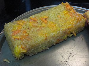 Clementine cake - Image: Vanilla clementine cake