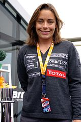 Vanina Ickx w 2011 podczas 24h Le Mans