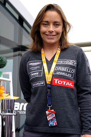 Vanina Ickx - Ickx at Le Mans in 2011