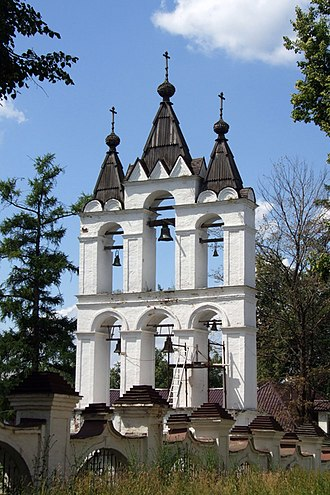 Zvonnitsa - Zvonnitsa of the Transfiguration Cathedral in Vyazemy, Moscow Oblast.