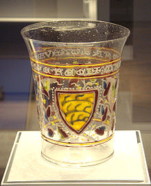 décoration de vase en verre
