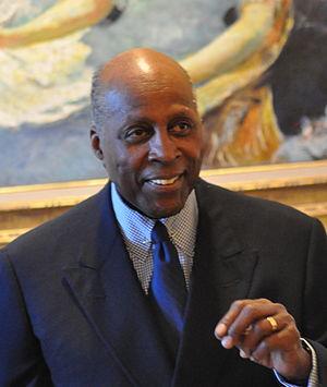 Vernon Jordan - US lawyer Vernon Jordan