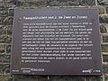 Vest 262 - 264b in Gouda. Kaaspakhuis J. de Zwet en Zonen, informatiebord.jpg