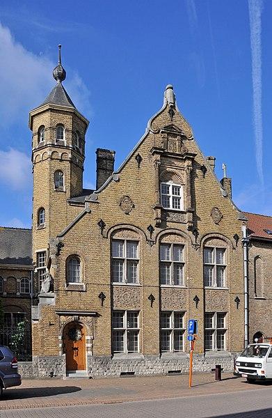 Veurne (Belgium), house Noordstraat 18