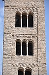 Vic. Cathedral. Romanesque bell tower. (15678942436).jpg