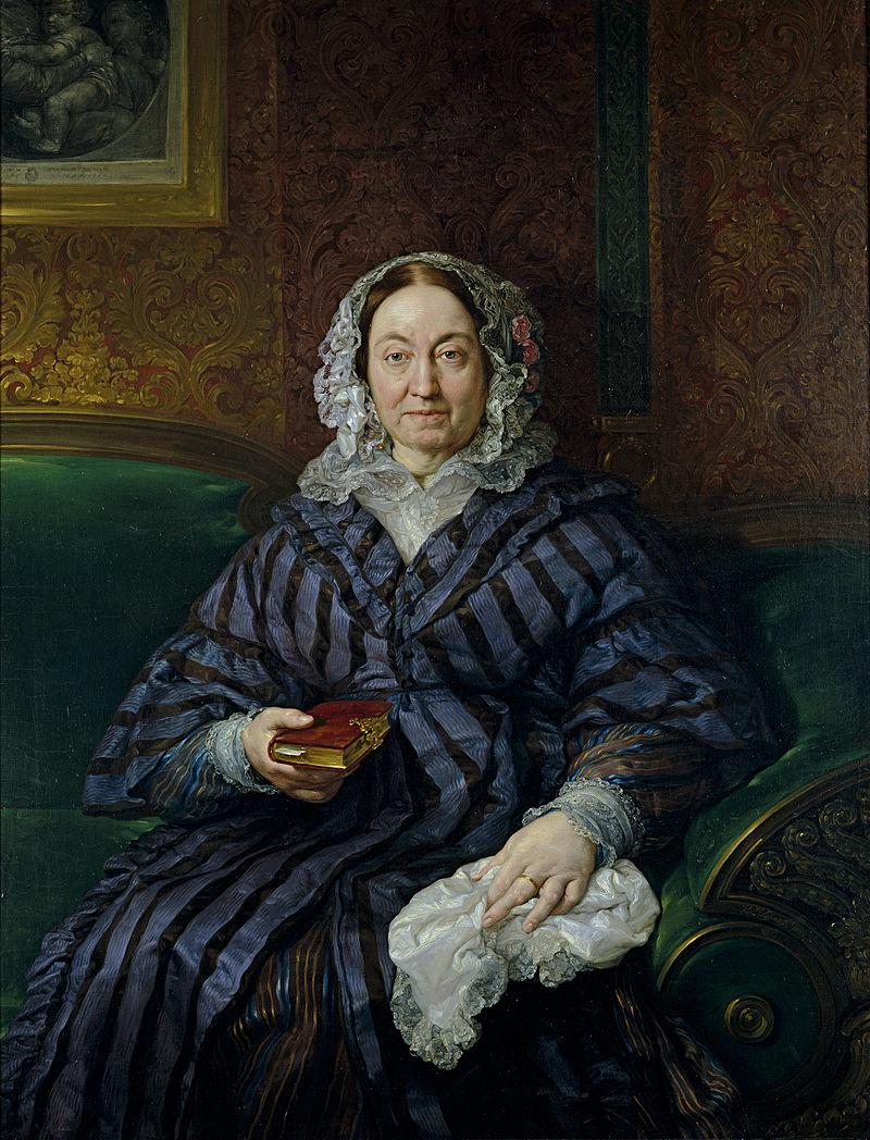 Vicente Lуpez Y Portaсa - Portrait of Doсa Francisca de la Gбndara - WGA13458.jpg
