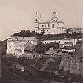 Viciebsk, Vićba, Pračyścienskaja. Віцебск, Віцьба, Прачысьценская (1900).jpg