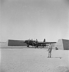 Vickers Wellington - Royal Air Force- Operations in North Africa, 1939-1943.; Royal Air Force, 38 Squadron CBM1225.jpg