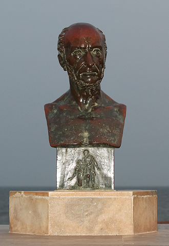 Victor Schœlcher - Bust of Victor Schœlcher, Pondicherry, India.