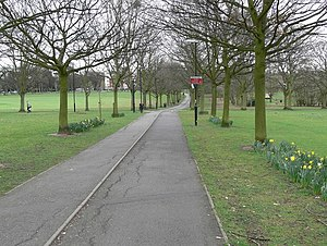 Victoria Park, Leicester - Image: Victoria Park, Leicester geograph.org.uk 732935