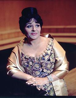 Victoria de los Ángeles Catalan/Spanish opera singer