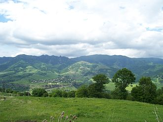 Lori Province - Pambak mountains and Dsegh village