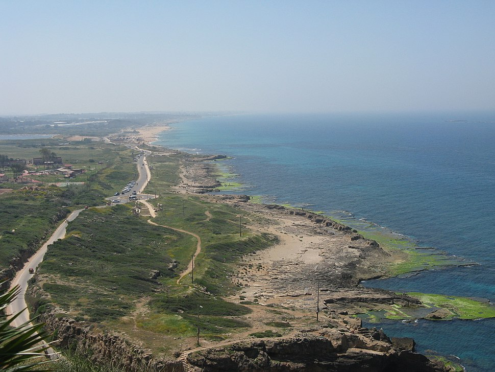 View from Rosh Hanikra mount