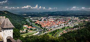 Celje - Celje from Celje Castle in 2016