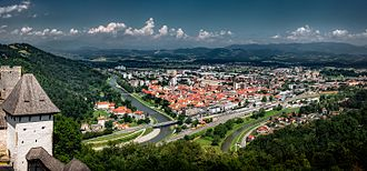 Celje - Celje from Celje Castle in 2016