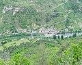View of Les Vignes from Chateau de Blanquefort.jpg