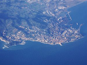 Piombino - Aerial view