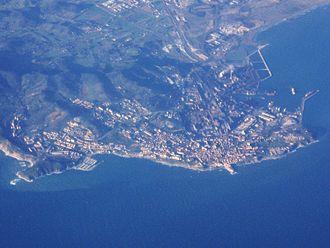 Piombino - Aerial view