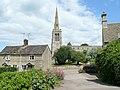 View to St. Nicholas' church, Bulwick - geograph.org.uk - 1399160.jpg