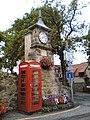 Village Clock. Aberdour, Fife - geograph.org.uk - 44832.jpg