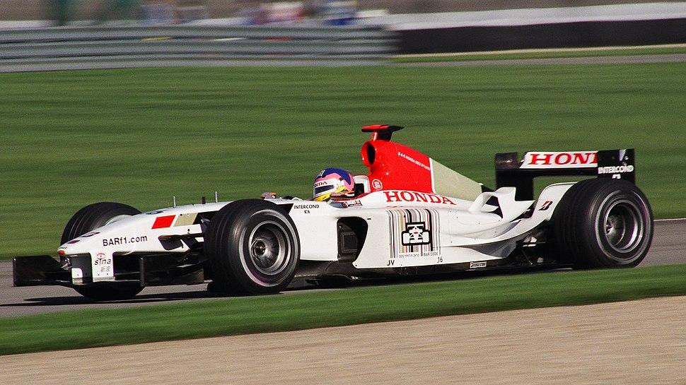 Villeneuve BAR USGP 2003