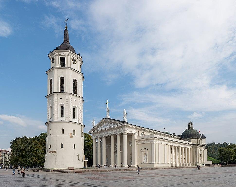 Vilnius Cathedral Exterior 2, Vilnius, Lithuania - Diliff