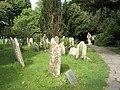 Visitors enjoy a tranquil Bosham churchyard - geograph.org.uk - 928362.jpg
