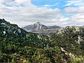 Vistas del Benicadell desde el camino de la font del Garrofer Lorcha l´Orxa (Alicante).jpg