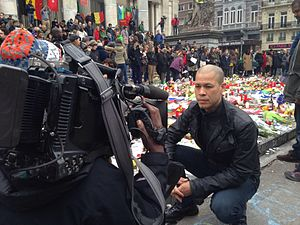 Vladimir Duthiers - Duthiers reporting from Brussels after the 2016 bombings
