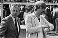 Voetbal Ajax tegen PSV 3-0. 2.3 Thijs Libregts (trainer PSV) (l.) en Aad de Mos , Bestanddeelnr 932-1097.jpg