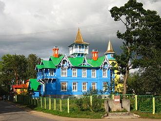 Vyritsa - House built by Ivan Churikov in 1906