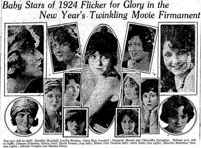 WAMPAS baby stars 1924