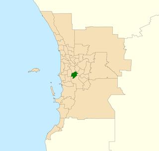 Electoral district of Riverton State electoral district of Perth, Western Australia