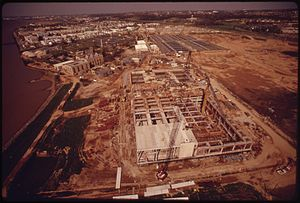 Blue Plains Advanced Wastewater Treatment Plant - Expansion of the plant in the 1970s