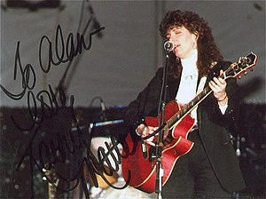 Kathy Mattea - Mattea performing in 1989