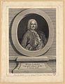 WILLE, Johan Georg. Henri Liébaux, géographe ordinaire du Roi et censeur Royal, A Paris. 1747.jpg