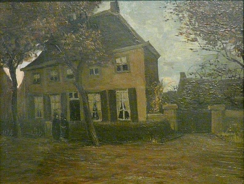 File:WLANL - jankie - De pastorie te Nuenen, Vincent van Gogh (1885).jpg