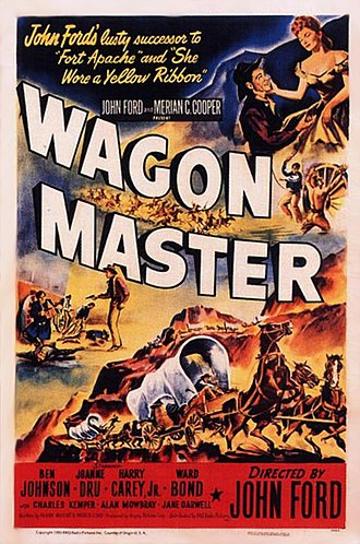 Wagon Master - 1950 theatrical release poster