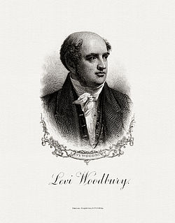 WOODBURY, Levi-Treasury (BEP engraved portrait)