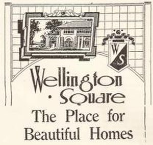 Wellington Square, Los Angeles - Historic Logo