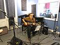 WWOZ 24Mch2014 Pete Roze guitar.jpg