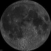 הצד הקרוב של הירח