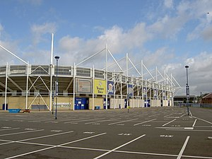 Filbert Street - Image: Walkers Stadium geograph.org.uk 1296732