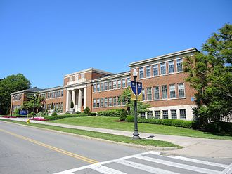 W. Allen Wallis - Wallis Hall on the University of Rochester campus