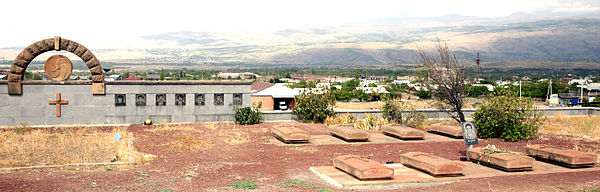 War Cemetery in Ashtarak, Armenia, 002, VM.jpg