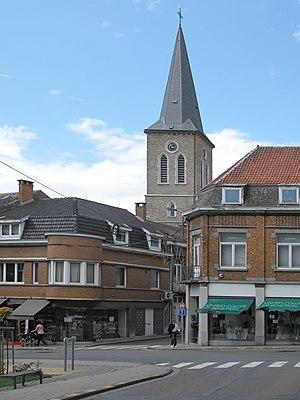 Waremme - Image: Waremme, église Saint Pierre foto 1 2012 07 01 14.50